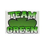 Team Green Rectangle Magnet (10 pack)