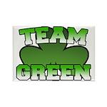 Team Green Rectangle Magnet