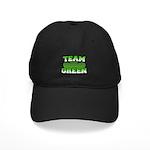Team Green Black Cap