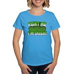 Fight Me I'm Irish Women's Dark T-Shirt
