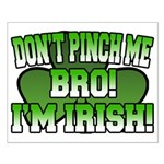 Don't Pinch Me Bro Small Poster