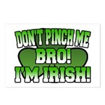 Don't Pinch Me Bro Postcards (Package of 8)