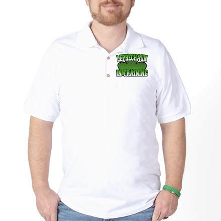 Leprechaun in Training Golf Shirt