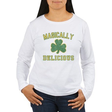 Magically Delicious Womens Long Sleeve T-Shirt