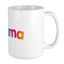 Obama Smiley Face Rainbow Mug