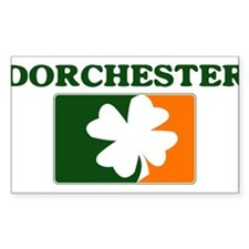 Dorchester Irish (orange) Rectangle Decal
