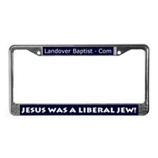 Cute Baptist License Plate Frame