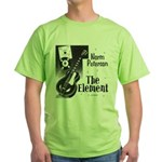"Green T-Shirt with ""The Element"" CD cove"