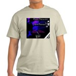 Music Through The Wire Light T-Shirt