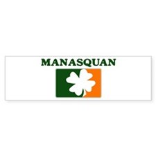 Manasquan Irish (orange) Bumper Bumper Sticker