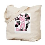 Cool Ballet Tote Bag