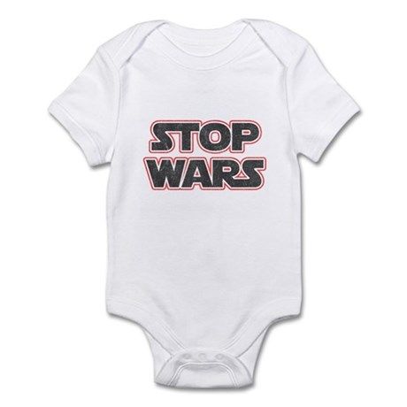 Stop Wars Infant Bodysuit
