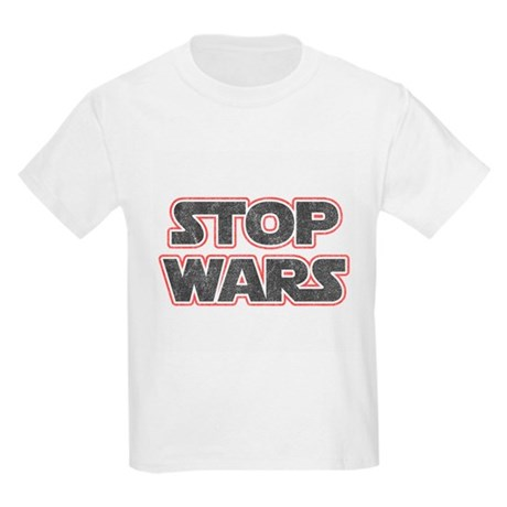 Stop Wars Kids Light T-Shirt