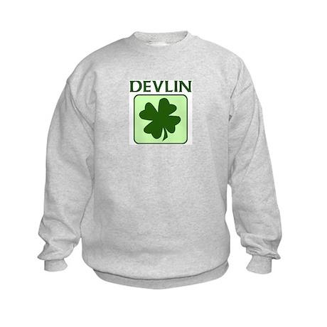 DEVLIN Family (Irish) Kids Sweatshirt