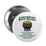 "Leprechaun Stew Recipe 2.25"" Button"