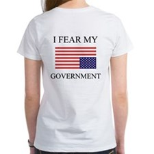 I Fear My Government Tee