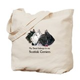 Scottish Terrier Trio Tote Bag