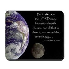 In Six Days Mousepad