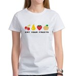 Eat Your Fruits Women's T-Shirt