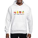 Eat Your Fruits Hooded Sweatshirt
