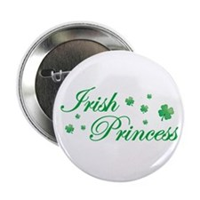 "Irish Princess 2.25"" Button (10 pack)"
