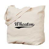 Vintage Wheaton (Black) Tote Bag