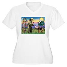Saint Francis & Airedale T-Shirt