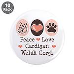 Peace Love Cardigan Welsh Corgi 3.5
