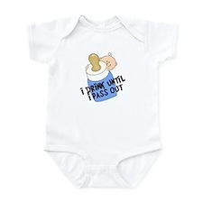 Drink Until I Pass Out BOY Infant Bodysuit