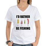 I'd Rather Be Fishing Shirt