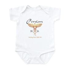 Red Persian M.D. Infant Bodysuit