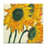 Sunflowers van gogh Drink Coasters