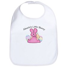 Abuelo's Little Bunny GIRL Bib