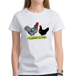 Black Sex-linked Chickens Women's T-Shirt