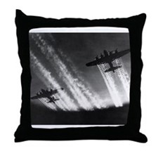 B-17's Throw Pillow