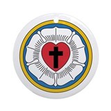 Luther's Seal Ornament (Round)