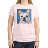 White Frenchie T-Shirt