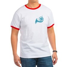 Blue French Horn T