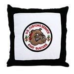 Khat Busters Throw Pillow