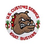 Khat Busters Ornament (Round)