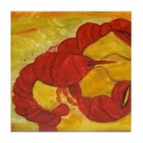 LOBSTER Tile Coaster
