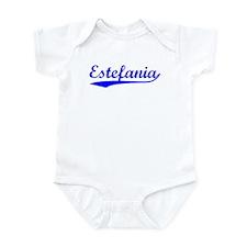 Vintage Estefania (Blue) Onesie