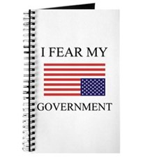 I Fear My Government Journal