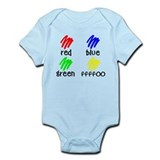 Colors for Smart Babies Infant Bodysuit