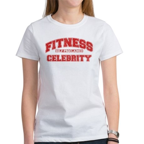 Fitness Celebrity Women's T-Shirt