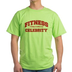 Fitness Celebrity Green T-Shirt