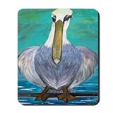Looney Pelican Mousepad