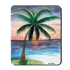 Sunset Palm Mousepad