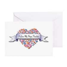 Love My Yoga Teacher Greeting Cards (Pk of 20)