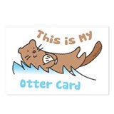 This Is My Otter Postcards (Package of 8)